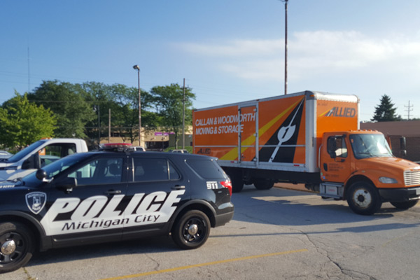 Michigan City Police Deparment Move