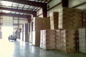 Five warehousing facilities in Indiana and Michigan.